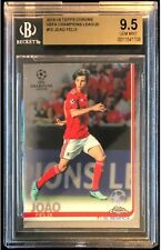 2018 Topps Chrome UEFA Champions League Joao Felix ROOKIE-Invest (BGS 9.5)
