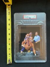 ROWDY RODDY PIPER Autographed Post Card w/PSA DNA AUTHENTICATION & ENCAPSULATION
