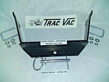 NEW - Trac-Vac Lawn Vacuum Drawbar for ENCORE Z42, Z48, Hitch Plate TRAC VAC OEM
