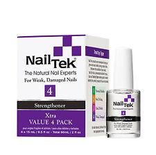 Nail Tek Strengthener Xtra 4 - 4 x 15mL / .5 fl. oz (Value 4 Pack) - 55812