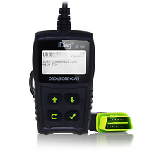 JDiag JD101 Read Code Scan Tool OBDII Automotive Diagnostic Fault Code Reader