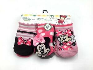 Disney Socks High Quality Multicolor Minnie Mouse Baby Girl Socks