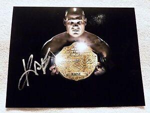 WWE Superstar Kane Signed 8x10 Photo Auto AKA Glen Jacobs