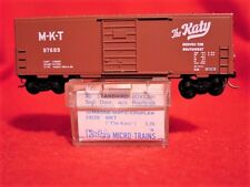 KD BLUE LABEL 24229 (KD24060) M-K-T 40' Box Car w/o RW #97689 'USED' N-SCALE