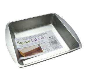 New Cake Tin Non Stick Round Square Tray For Baking Brownie Pizza Birthday Cakes