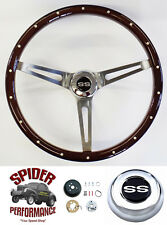 "1969-1973 Chevelle EL Camino steering wheel SS 15"" MUSCLE CAR MAHOGANY"