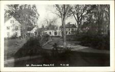 Keene NH Hurricane Damage 1938 Real Photo Postcard