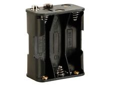 Boitier pour 6 Piles 1.5 Volt Type R6 ou AA  Connecteurs à Pression