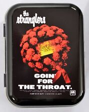 THE STRANGLERS NO MORE HEROS ROSES WREATH PUNK ROCK 1977 HINGED TIN MINTS PILL