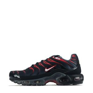 Nike Air Max Plus Tuned TN Men's Trainers Shoes Black/ Dark Grey UK 6, 6.5