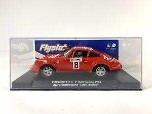 FLY 036108 PORSCHE 911 S 1ST PLACE RALLY SUECIA '68 1/32 SLOT CAR