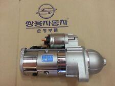 Genuine Starter Motor for Ssangyong REXTON, KYRON, ACTYON/SPORTS #6651510201