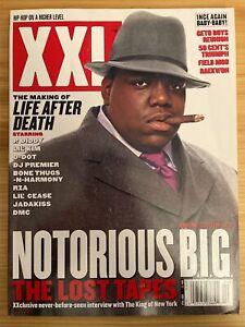 XXL Magazine April 2003 46 Notorious Big Biggie Life After Death Rap HipHop