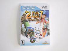 2 for 1 Power Pack: Kawasaki Jet Ski/Summer Sports 2 - rare Nintendo Wii Game -