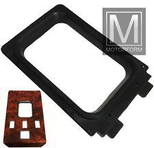 Mercedes SL 107 560SL 560 centre console rubber shift panel seal frame 124 500E
