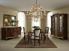 Arredoclassic™ Dining Table+8 Chairs Room Table Rococo Baroque Art Nouveau