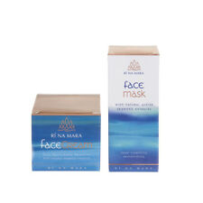Seaweed Cosmetics Moisturising Face Cream Purifying Face Mask Gift Set