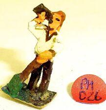 Homme avec Pelle buvant Preiser ? Figurines en bois Années 50 Ans H0 1:87 PH056