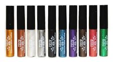 10 Piece Diamond Glitter & Shimmer Style Liquid Eyeliner Eyeshadow Color Set
