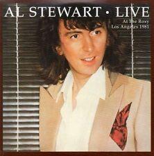 CD Album Al Stewart Live at The Roxy, Los Angeles 1981 (Mini LP Style Card Case)