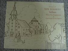 SCENES OF NEW HARMONY INDIANA…WHERE TWO EXPERIMENTS IN COMMUNAL LIVING STARTED