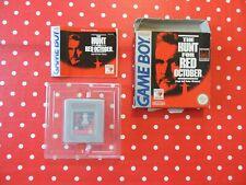 the Hunt for Red October Jagd auf Roter Oktober Nintendo Gameboy OVP Anleitung