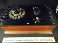 Antique Leeds and Northrup 563743 Simplified Student Potentiometer Untested