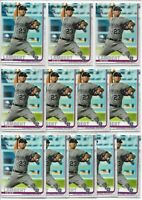 2019 Topps Update Peter Lambert (12) Card Bulk Rookie Lot #US73 Rockies RC