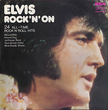 Elvis Presley - Rock 'n' On - Double LP 12""