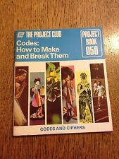 The Project Club 050, Codes:How To Make and Break Them - Vintage Paperback