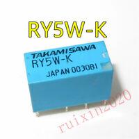 ry5w-k Takamisawa Relais Relay DPDT 2xu 5vdc 1 A 165r New #bp 4 pc