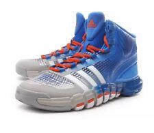 185b17d8bd6 Mens adidas Adipure Crazyquick Grey Blue Hi-Top Basketball Trainers Boots 10