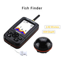 Smart 45M Handheld Fish Finder With Wireless Sonar Sensor River Ocean Fishfinder