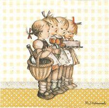 Serviettes en papier Enfant Cadeau Decoupage Paper Napkins The Birthday Gift