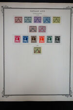 Vatican City 1929 to 1969 Stamp Collection