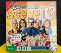 Scene it? Comedy Movies DVD Deluxe Edition Family Trivia Board Game New & Sealed
