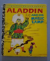 A Little Golden Book - Aladdin And His Magic Lamp 1970's