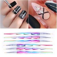 Mixed Shape UV Gel Polish Brush Drawing Painting Pen Nail Brush Nail Art Tools
