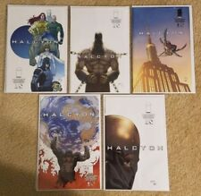 HALCYON #1-5 Full Run NM 1st Prints * MARC GUGGENHEIM Image Comics