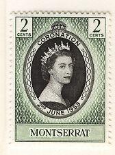 Elizabeth II (1952-Now) Single Montserratian Stamps