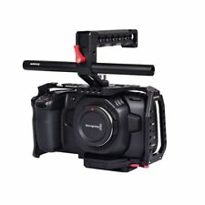 Waraxe Bmpcc 4K Cage/Cage Kit Blackmagic Pocket Cinema Camera 4K Aluminium Black