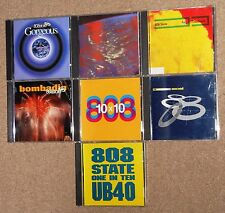 808 State 7 CD 10x10 Ex:El Gorgeous Utd 90 Timebomb Bombadin Ub40 One In Ten OOP