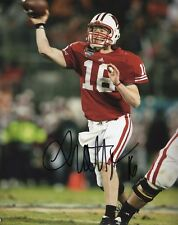 Scott Tolzien Wisconsin Badgers Signed 8X10 Photo