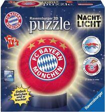 RAVENSBURGER*PUZZLEBALL*NACHTLICHT FC BAYERN MÜNCHEN*72 TEILE*OVP