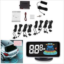 8 Parking Sensors LCD Display Monitor Car Reverse Parking Radar Alarm System Kit