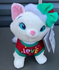 Disney's The Aristocats Marie Holiday Plush Medium New with Tags