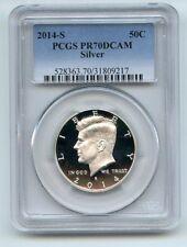 2014 S 50C Silver Kennedy Half Dollar PCGS PR70DCAM
