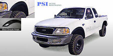 Black Paintable Rugged Fender Flares 1997 - 2003 Ford F-150 ; Styleside Only 4pc