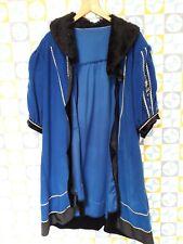 Unisex Fancy Dress Royal Blue Jacket Size Large Ex Hire