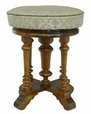 Walnut Original Victorian Benches & Stools (1837-1901)